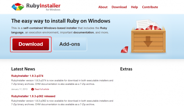 RubyInstaller-for-Windows