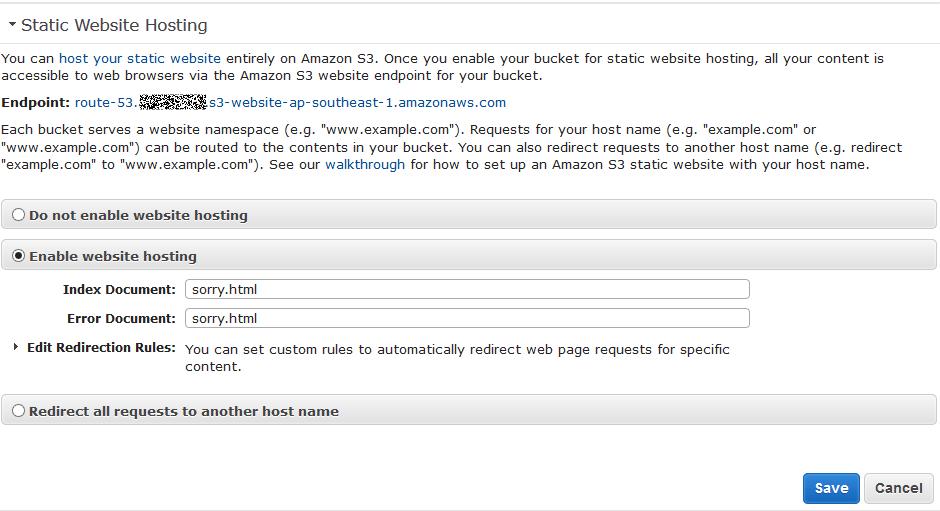 14 static web site