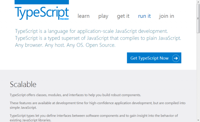 Welcome to TypeScript