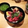 菊すしのマグロ漬け丼