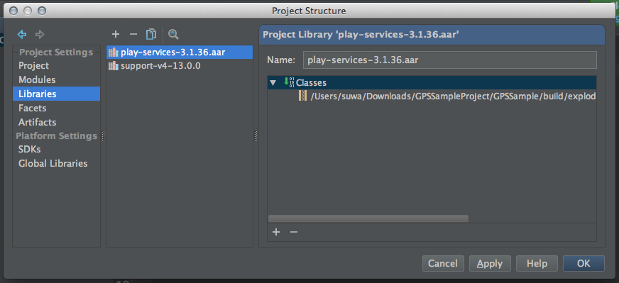 Android studio google play services for Google docs android studio