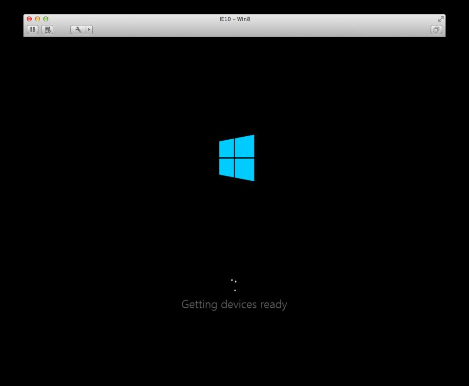 Windows 8の起動