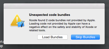 xcode-load-bundle