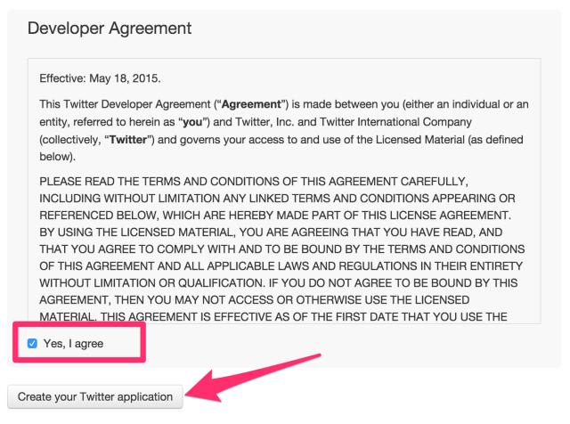 Create_an_application___Twitter_Application_Management 2