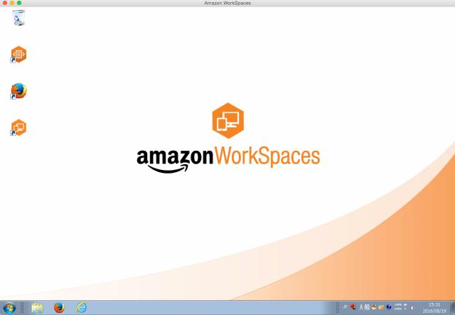 Amazon_WorkSpaces_と_名称未設定フォルダ