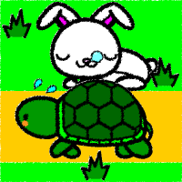 rabbit_tortoise-handwrittenstyle