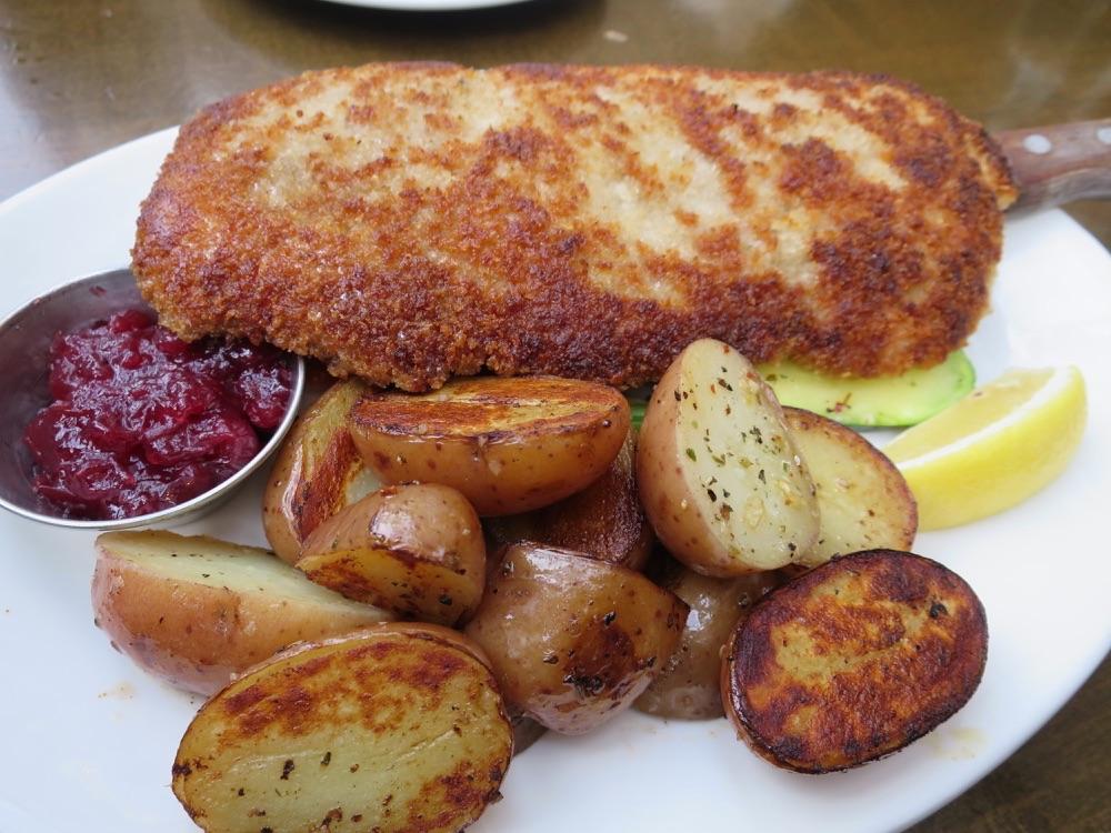 Breaded Pork Schnitzel