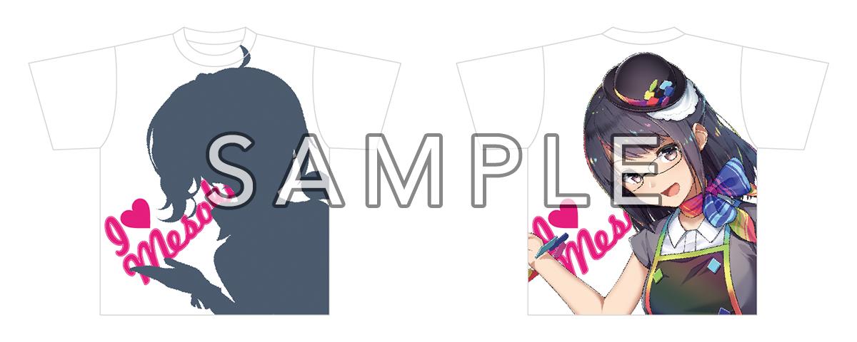 めそ子Tシャツ