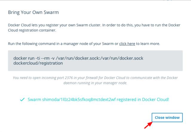 Docker Cloud5