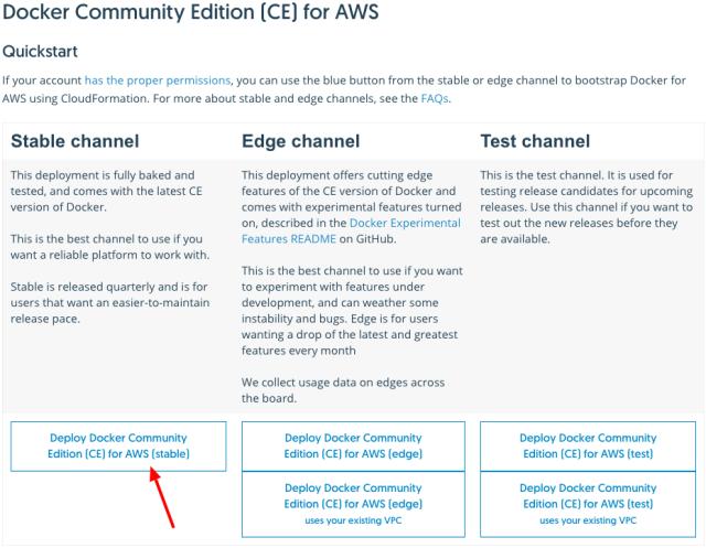 Docker for AWS Setup1