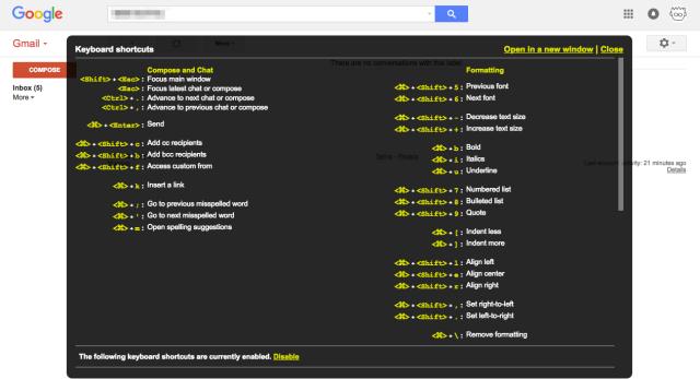 shortcut-keys-of-web-services_gmail