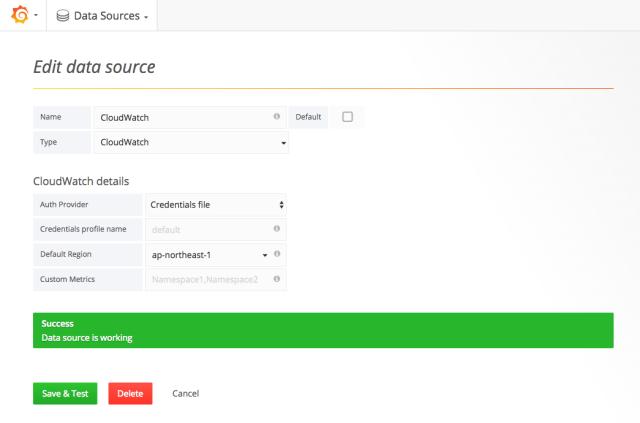Grafana AWS Cloudwatch Browser 1